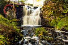 Waterwheel At A Glenariff Is A...