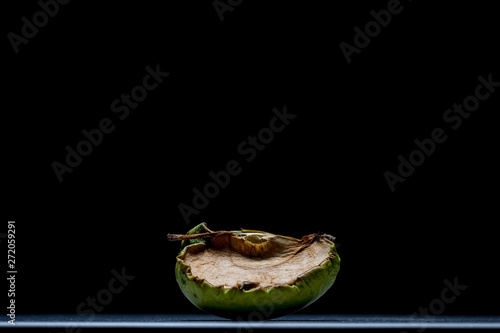 dried apple with mold Fototapet