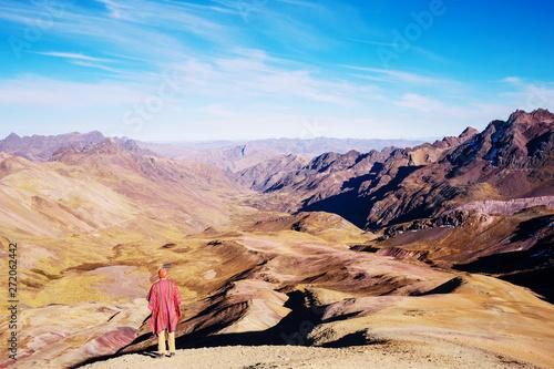 fototapeta na drzwi i meble Hike in Peru