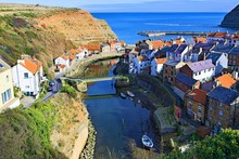 Staithes River, Alongside Cowbar Nabb And The Harbour