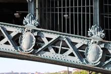 Ville De Lyon - Pont De L'Université Sur Le Fleuve Rhône Inauguré En 1903 Avec Arches Métalliques