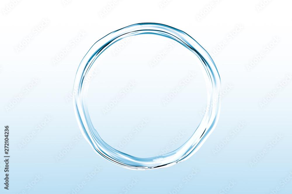 Fototapety, obrazy: 水の輪