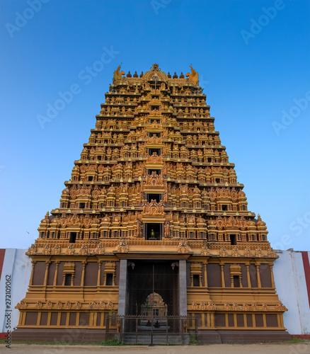 A Hindu Temple Gate, Jaffna, Sri Lanka