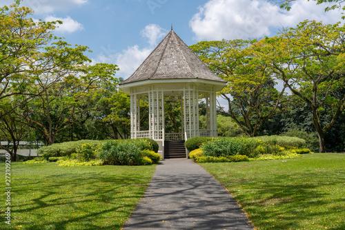 Photo Band stand landmark at Singapore Botanic Garden