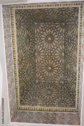 Poster Maroc Grobowce Saadytów, Marrakesh, Maroko