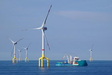 offshore vjetroagregat u sjevernom moru