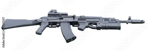 Fotografia modern assault rifle with underbarrel grenade launcher