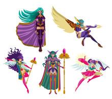 Magical Anime Rpg Elf Fantasy Lady