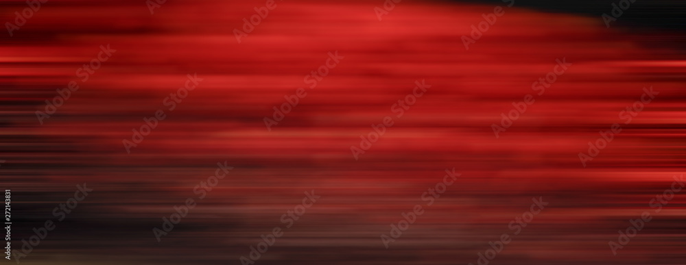 Fototapety, obrazy: Abstract red motion blur background