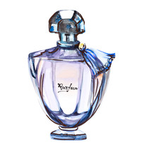 Perfume Bottle, Hand Drawn Fas...