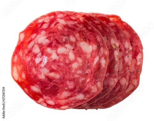 Fotografia, Obraz  Spanish salchichon. Salami sausage