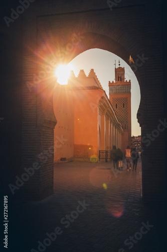 Medina of Marrakesh Wallpaper Mural
