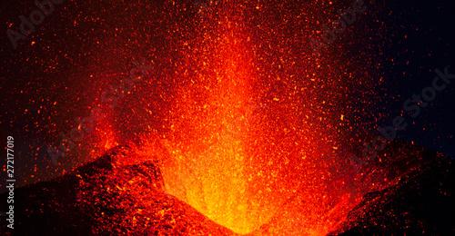 Fotomural  Volcano Eyjafjallajökull