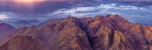Egypt. Mount Sinai In The Morn...