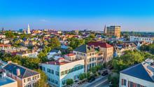 Rainbow Row In Charleston South Carolina SC