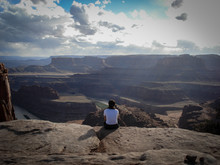 A Quiet Look At The Colorado River In Dead Horse Point Park