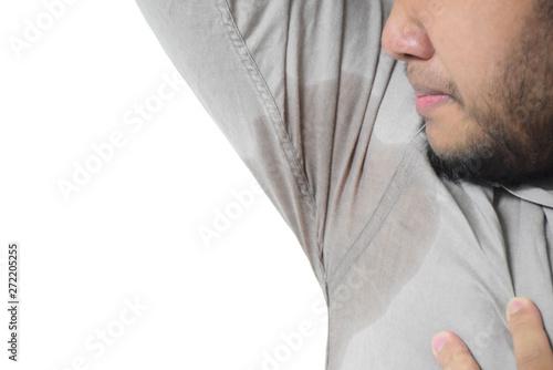 Fotografie, Tablou  Wet armpits or Sweaty armpits
