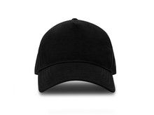 Black Baseball Cap Isolated On...