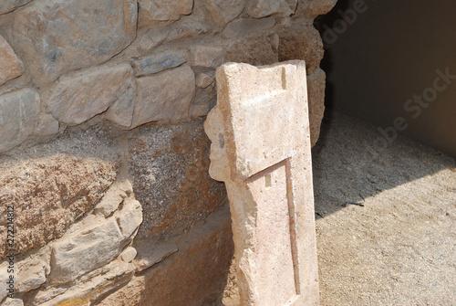 Fotografie, Obraz Kazanlak, Bulgaria - May 29, 2018 : Thracian tomb Helvetia