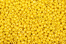 Pile Of Yellow Beads