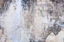 Grunge Gray Concrete Wall. Vintage Texture Backdrop
