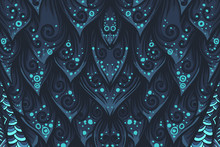 Abstract Mystery Vector Backgr...