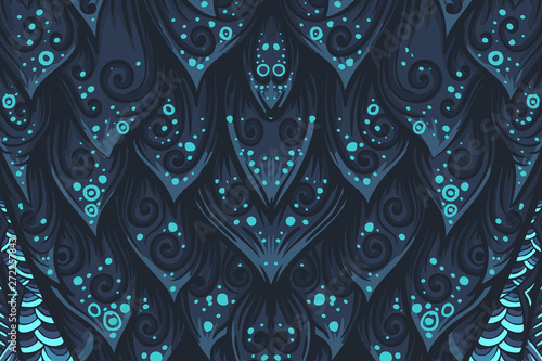 Poster Uilen cartoon Abstract mystery vector background. Vector eps10 illustration.