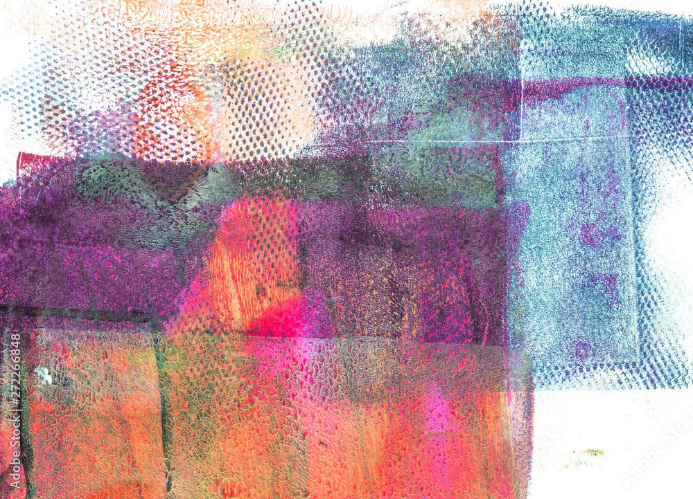 Fototapeta Handmade Abstract Acrylic Background