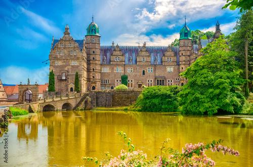 Fotomural  Wasserschloss Hämelschenburg im Emmerthal, Niedersachsen
