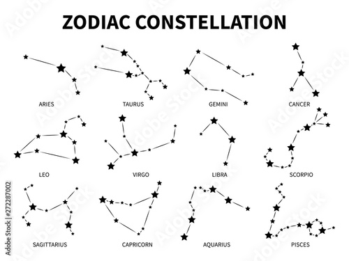Photo Zodiac constellation