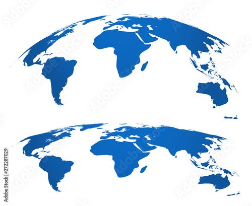 Fotografie, Obraz  Map globe