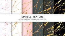 Marble Texture, Premium Set Of...