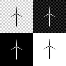 Wind Turbine Icon Isolated On ...