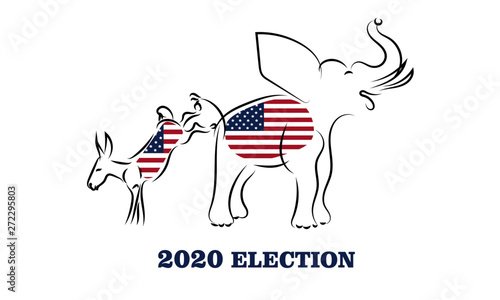 Fototapeta  2020 election