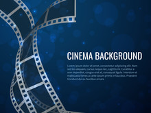 Film Strip Roll Poster. Movie ...