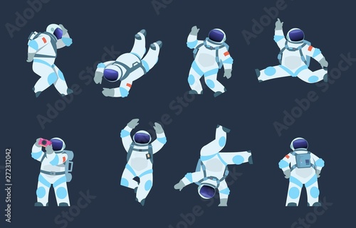Tela Cartoon astronaut