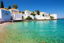 Idyllic Beach At  Spetses