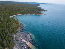Aerial Landscape View Canada