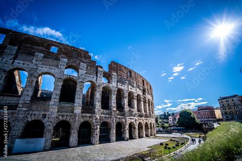 Foto auf Gartenposter Rom Colosseum in Rome, Italy