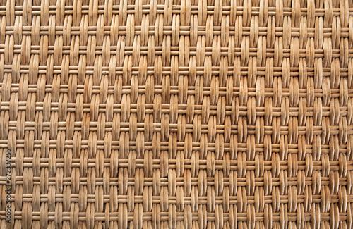 Cuadros en Lienzo Wicker basket texture
