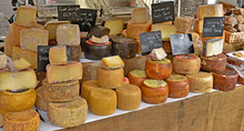 Variety Of Cheese, Ope Air Mar...