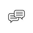 Conversation icon graphic design template vector illustration