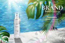 Cosmetic Spray Bottle Ads