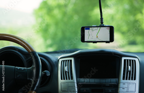 Valokuva smartphone magnet car gps phone holder