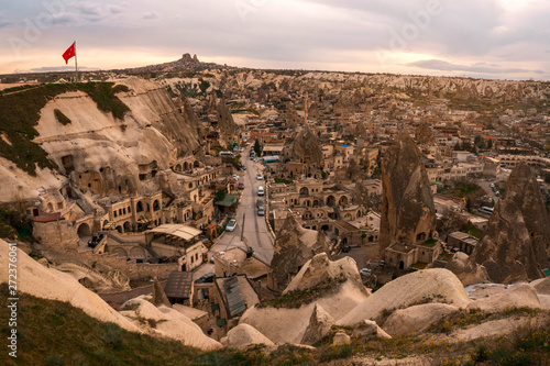 Fototapeta  Landscape of Goreme sunset view point