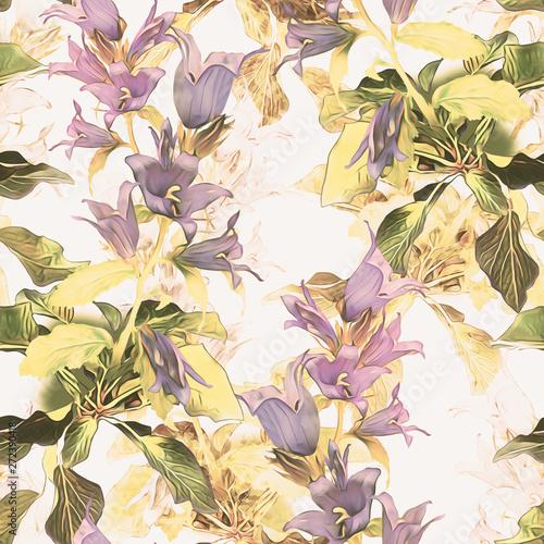wzor-kwiaty-dzwon