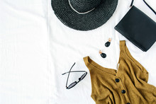 Feminine Fashion Composition W...