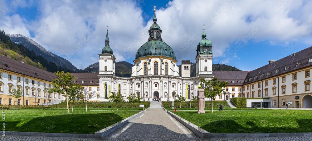 Fototapety, obrazy: Kloster Ettal