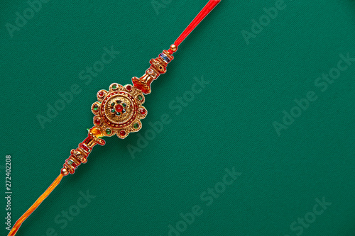 Valokuva  Indian festival raksha bandhan raakhi , rakhi