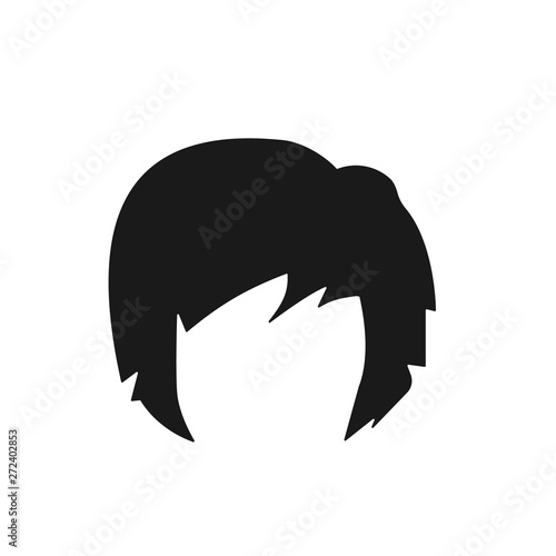 hair, woman, haircut, bob icon Fotobehang